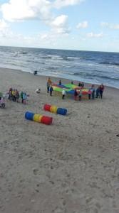 Sportas prie jūros
