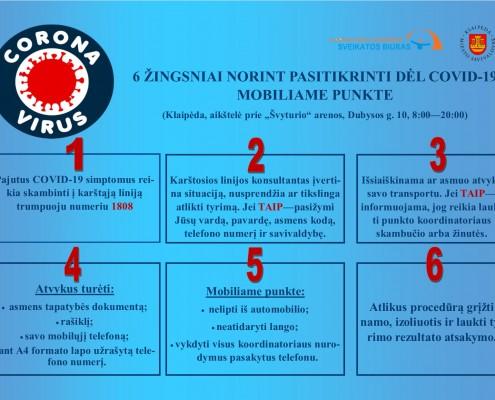 6 žingsniai